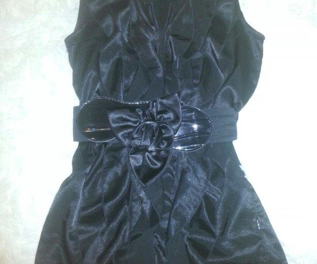 Блузка с поясом. Фото 1.