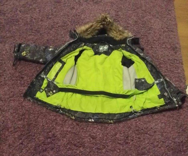 Полукомбинезон с курткой. Фото 2.