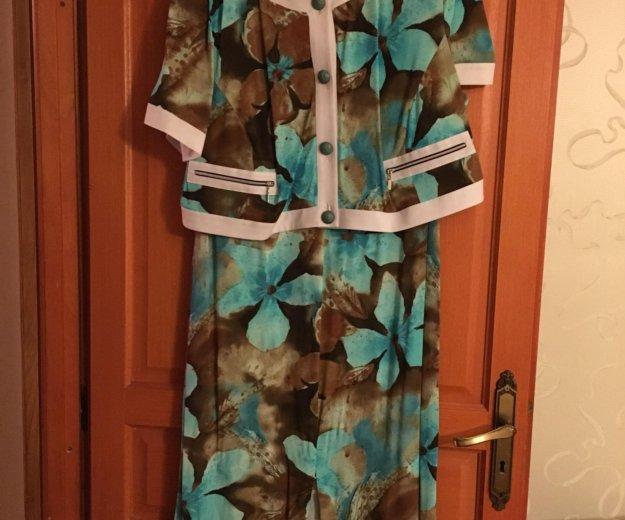 Платье с жакетом новое 62р. Фото 1. Москва.