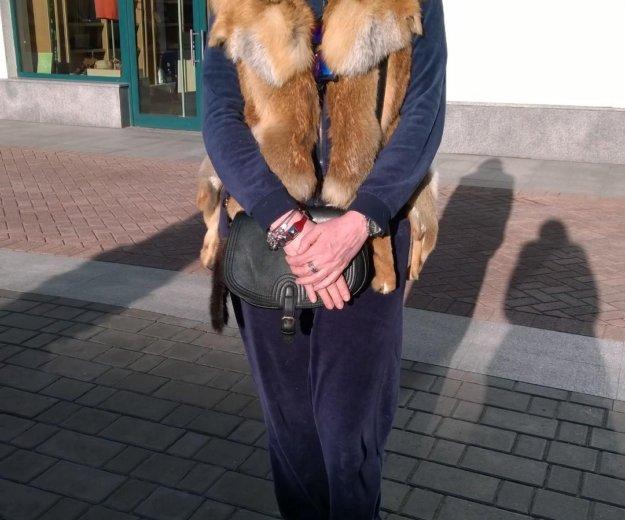 Жилет из лисы. Фото 3. Москва.