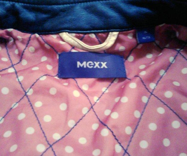 Кожанная куртка mexx. Фото 2. Сочи.
