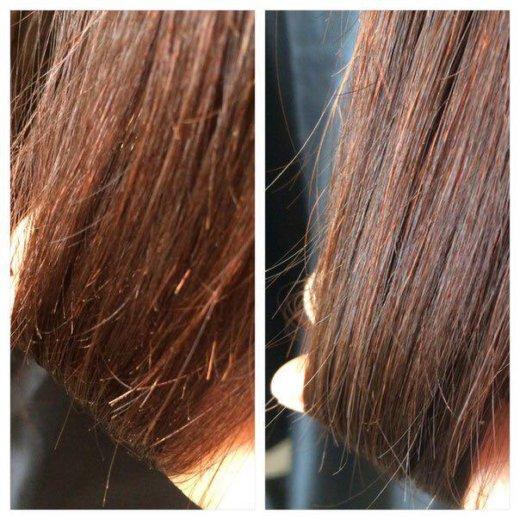 Полировка волос/ кератиновое выпрямление/ботекс. Фото 2. Москва.