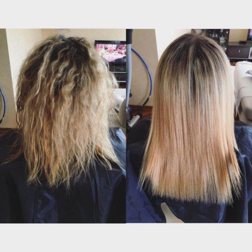 Полировка волос/ кератиновое выпрямление/ботекс. Фото 4. Москва.