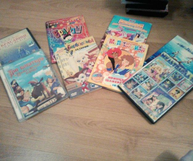 Диски с мультфильмами для детей. Фото 1. Сочи.
