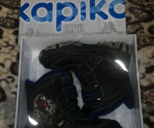 Ботинки детские зимние капика. Фото 1.