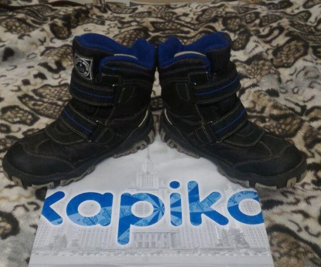 Ботинки детские зимние капика. Фото 3.