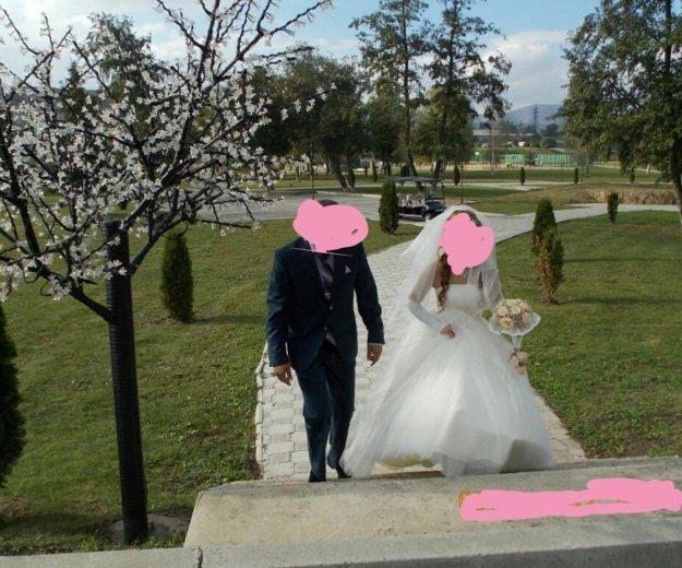 Свадебное платье. Фото 1. Армавир.