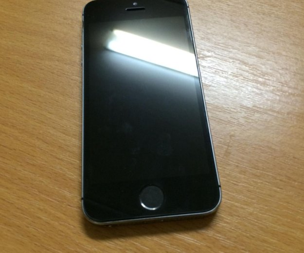 Iphone 5s 16gb space gray (серый) + чехол. Фото 4. Архангельск.