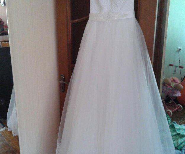 Свадебное платье. Фото 1. Строитель.