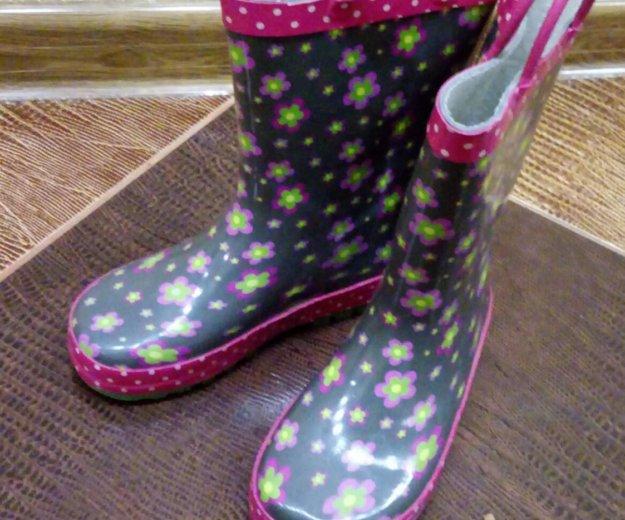Резиновые сапоги для девочки. Фото 1. Краснодар.