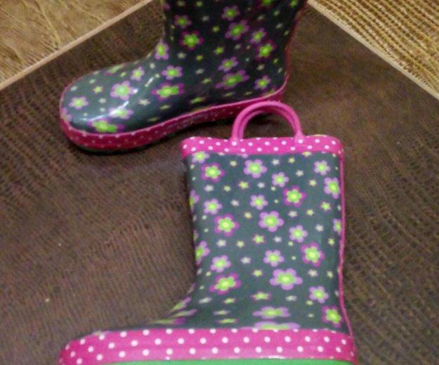 Резиновые сапоги для девочки. Фото 2. Краснодар.