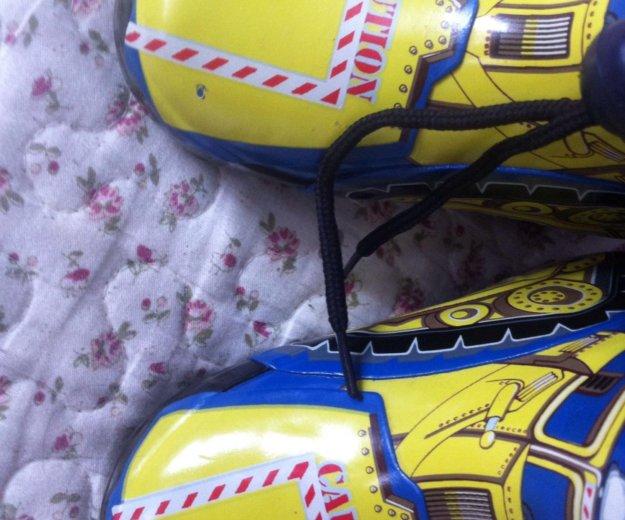 Резиновые сапоги утепленные 21 размер. Фото 3. Котельники.