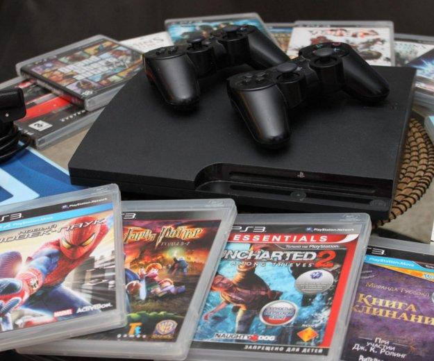 Playstation 3 slim 320gb. Фото 1.
