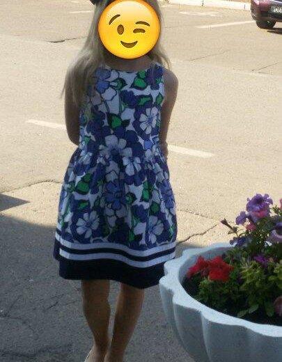 Платье джимбори.  америка.б/у раз. Фото 1. Стерлитамак.