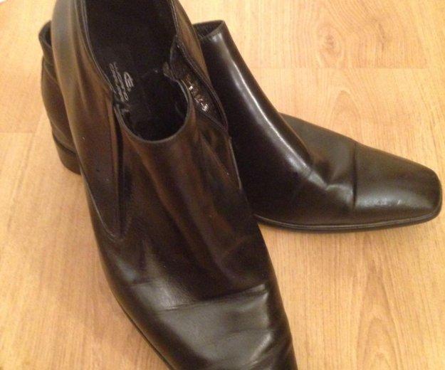 Туфли мужские кожаные,45. Фото 1. Москва.