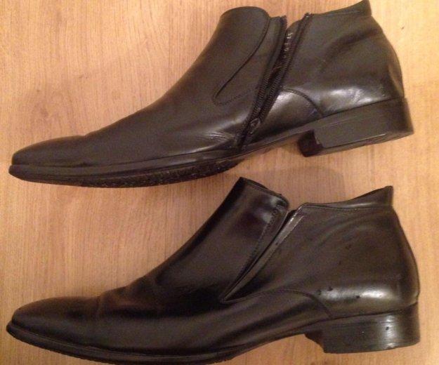 Туфли мужские кожаные,45. Фото 3. Москва.