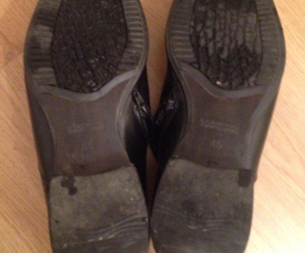 Туфли мужские кожаные,45. Фото 4. Москва.
