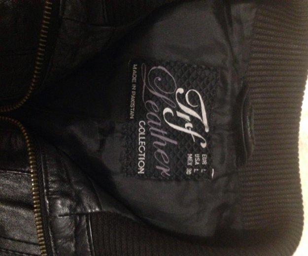 Кожаная куртка zara. Фото 2. Котельники.