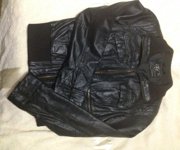 Кожаная куртка zara. Фото 4. Котельники.