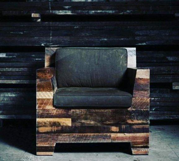 Кресло в стиле лофт. Фото 1. Ростов-на-Дону.