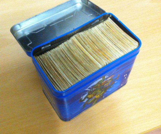Карточки черепашки ниндзя. Фото 3. Пенза.