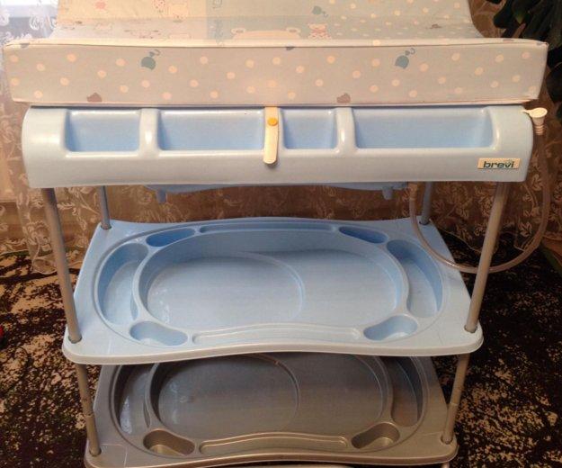Ванночка для купания с пеленальным столиком. Фото 3. Тюмень.