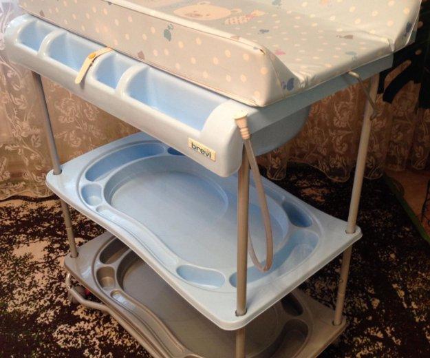 Ванночка для купания с пеленальным столиком. Фото 1. Тюмень.