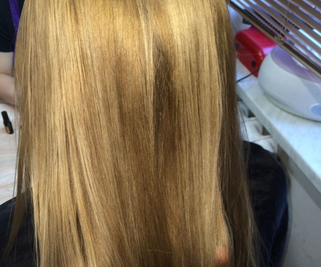 Ботокс для волос в салоне. Фото 4. Москва.