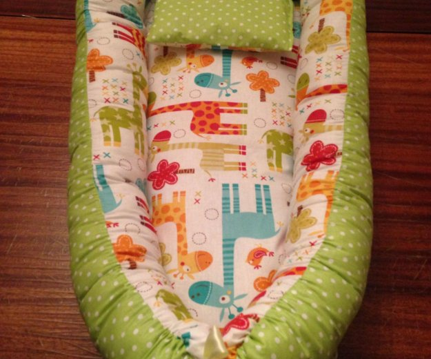 Гнёздышко (кокон) для новорождённого. Фото 1. Чебоксары.