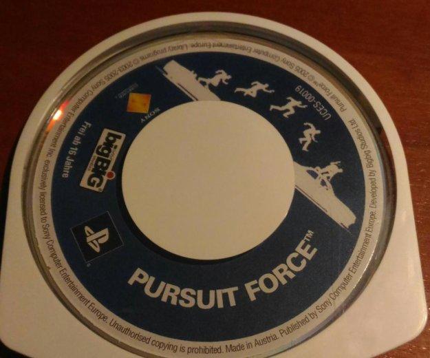 Игра для psp pursuit force. Фото 1. Москва.