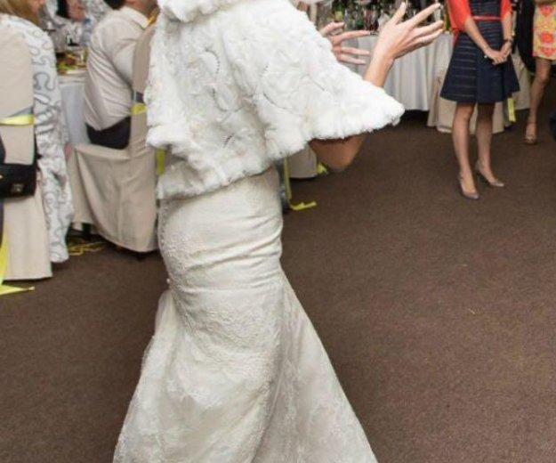 Свадебная меховая накидка. Фото 3. Королев.