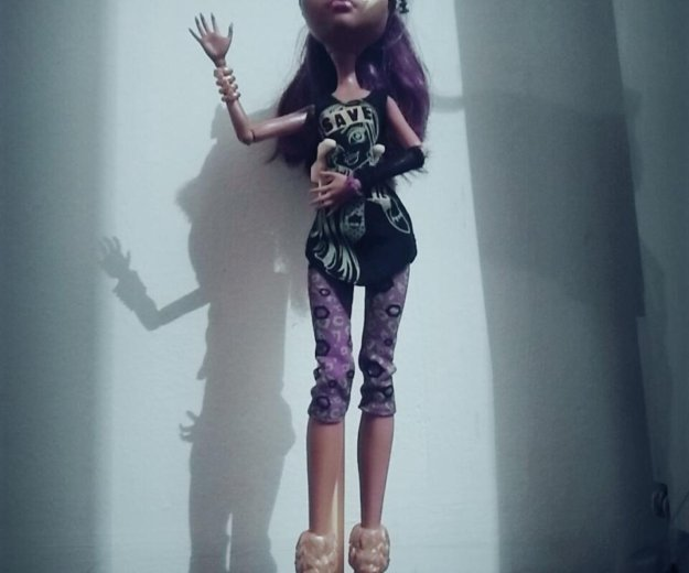 "Кукла монстер хай клодин вульф "" спаси френки"". Фото 2. Лобня."