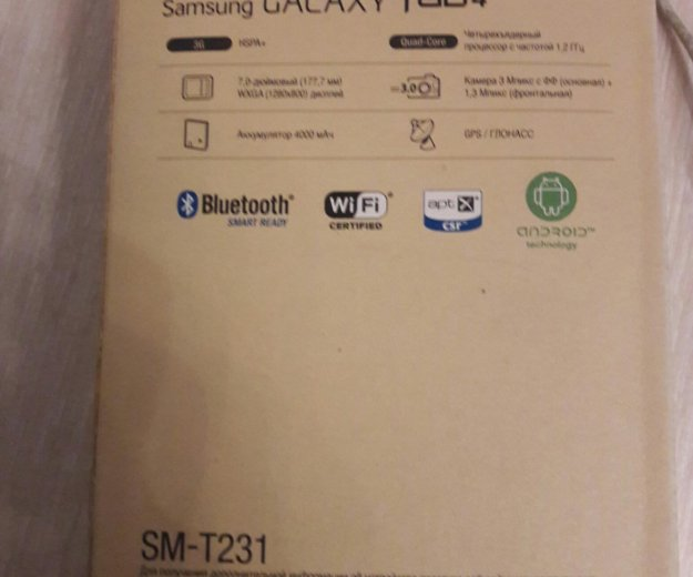"""Samsung galaxy tab 4 7"""" 3g. Фото 2."""