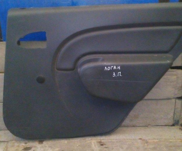 Задние обшивки дверей рено логан renault logan. Фото 1. Сыктывкар.