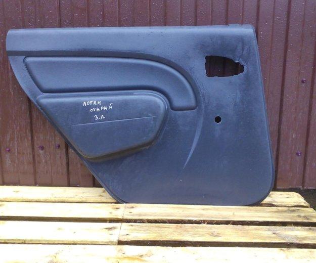Задние обшивки дверей рено логан renault logan. Фото 2. Сыктывкар.