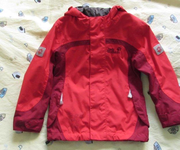 Продам куртка мембранная jack wolfskin girls topaz. Фото 1. Новосибирск.