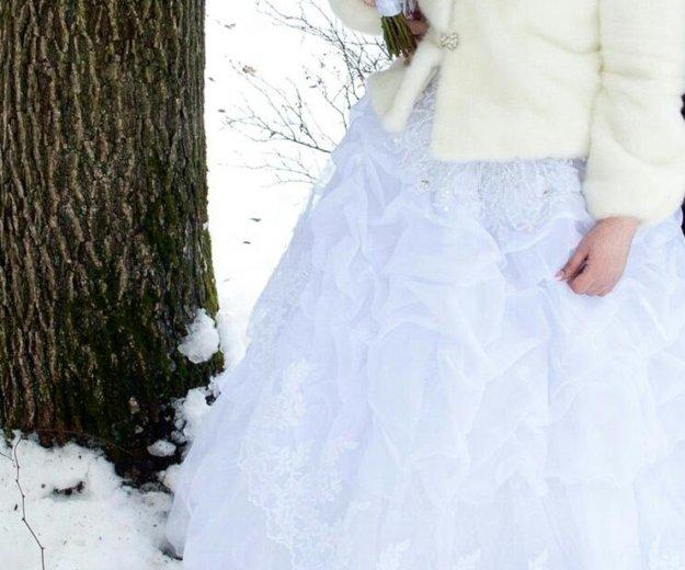 Свадебная шубка. Фото 2. Орехово-Зуево.