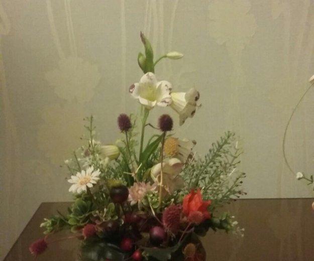 Композициииз цветоа. Фото 2. Казань.