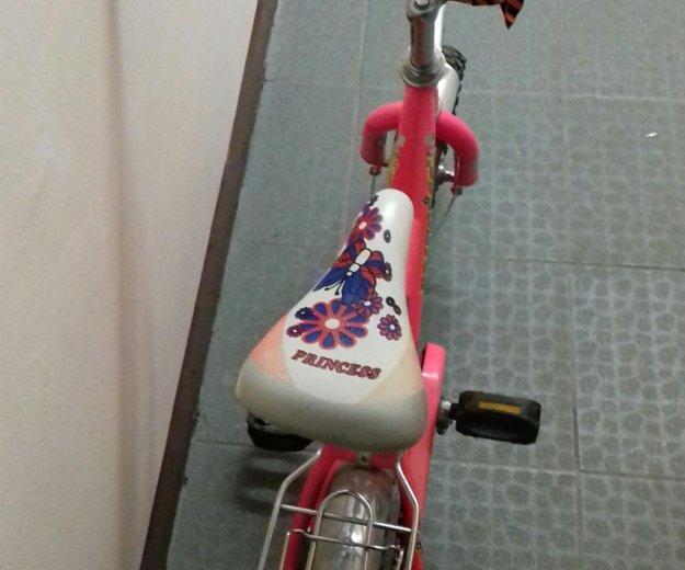 Велосипед детский розового цвета. Фото 2. Москва.