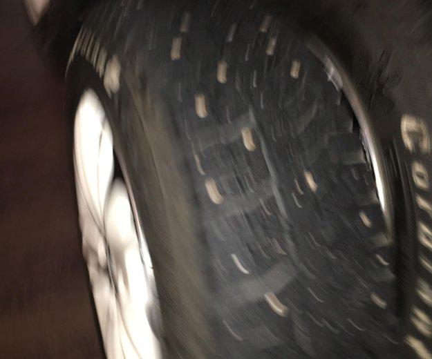Литьё кик на 15 (4 на 100) и шины шипы 185/65/15. Фото 4.