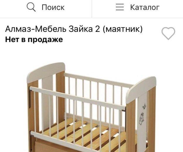 Кроватка детская. Фото 1. Люберцы.