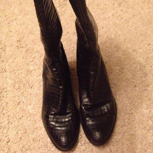 Сапоги кожаные ,. Фото 4.