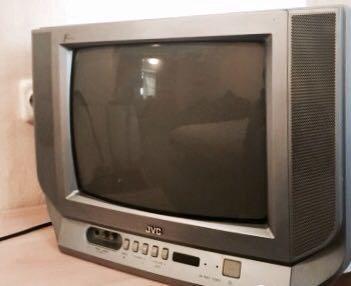 Телевизор jvc. Фото 1.