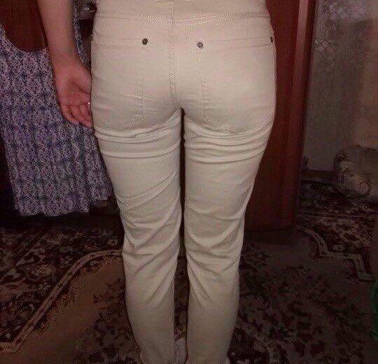 Обтягивающие брюки с завышенной талией . xs, s. Фото 2. Москва.