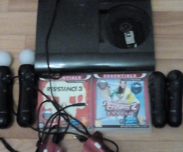 Playstation 3 super slim 500gb. Фото 1. Воронеж.