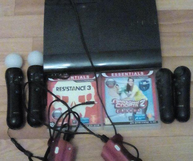 Playstation 3 super slim 500gb. Фото 3. Воронеж.