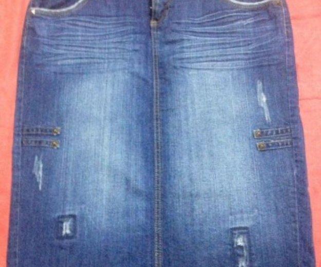 Юбка джинсовая camaieu. Фото 1. Ижевск.