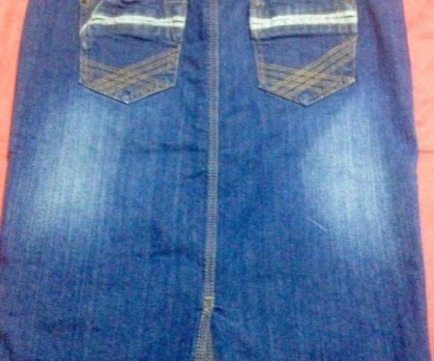 Юбка джинсовая camaieu. Фото 2. Ижевск.