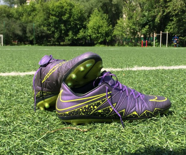 Nike hypervenom phantom фиолетовые. Фото 2. Москва.
