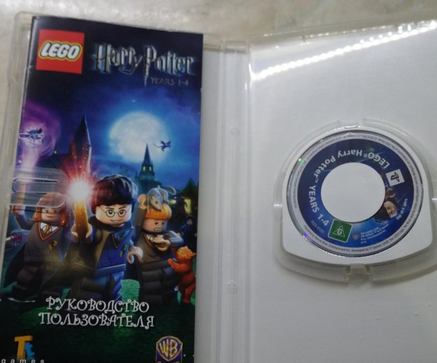 Игра на psp lego harry potter. Фото 1. Воронеж.
